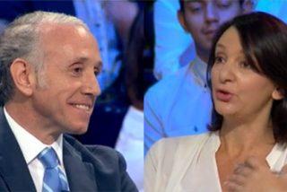 """Inda se troncha de una desquiciada Bescansa a cuenta del batacazo de Podemos en Cataluña: """"Si tú te muerdes la lengua, te envenenas"""""""