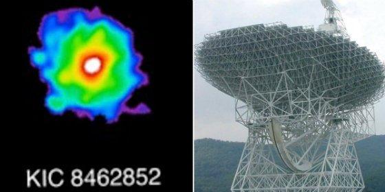¡Señales de una civilización alienígena en la misteriosa estrella KIC 8462852!