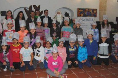 Los más pequeños participan en las Jornadas Gastronómicas Tajo Internacional