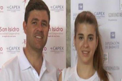 Isabel Guisado y José Ángel Rama del CAPEX, nombrados deportistas de alto rendimiento