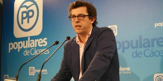 """PP de Cáceres ensalzará la labor realizada por alcaldes y portavoces """"populares"""""""