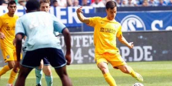 Juanpi quiere jugar toda la vida en el Málaga