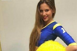 Una cheerleader de Boca Juniors se desnuda en una revista... ¡y habla de su relación con Bisbal!