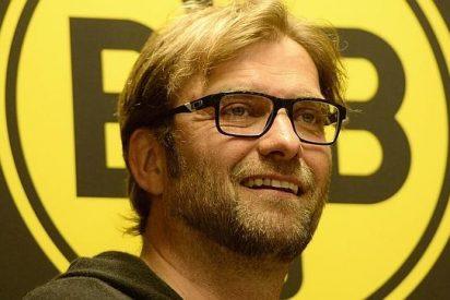 El alemán Jürgen Klopp, en su presentación con el Liverpool: