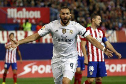 El Real Madrid no remata a un Atlético herido y sólo saca un 1-1 de un derbi gris y con pocas ocasiones