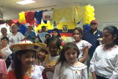 Día de la Hispanidad en una parroquia de Nueva York