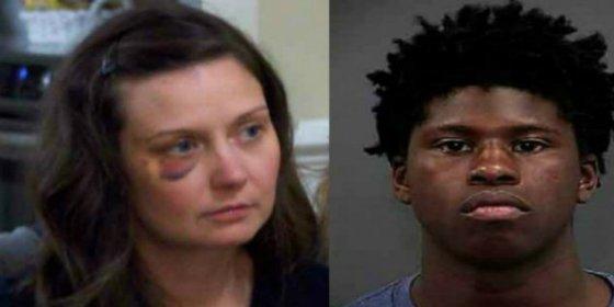 Una maestra le arranca la lengua de un bocado al niñato que la quería violar