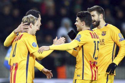 Antena 3 no da tregua a la competencia con la Champions del Barça (24,2%) y 'Mar de plástico' (21,7%)