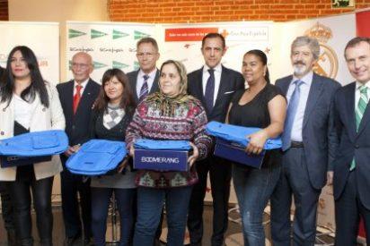 El Corte Inglés y Fundación Real Madrid donan a Cruz Roja material deportivo