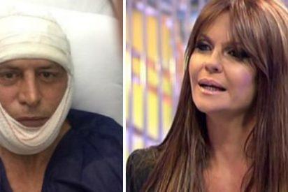 De esta guisa aparece Kiko Matamoros tras operarse la cara mientras que a su mujer la insultan en 'Sálvame'