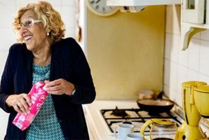 """Jaime González, a saco contra la alcaldesa de Madrid: """"Manuela Carmena me recuerda a la mamá de Don Limpio, con la diferencia de que la venerable mujer del anuncio sí predica con el ejemplo"""""""