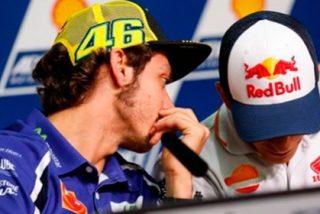 Desvelan una nueva pila de graves insultos de Rossi a Márquez