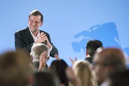 """Rajoy dice que la bajada del paro en 650.000 personas este año será un """"récord"""""""