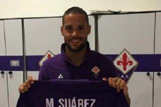 La respuesta de Mario Suárez al Sevilla