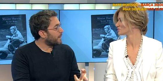 Màxim Huerta se pasa a la competencia y presenta su nuevo libro en 'Espejo Público'