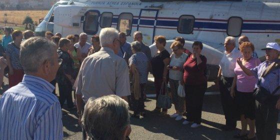 """Vecinos de San Vicente de Alcántara deciden conmemorar """"El Día Internacional de las Personas Mayores"""""""