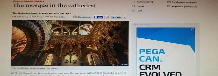 'The Economist' denuncia a la Iglesia española por el caso de la Mezquita de Córdoba