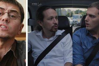 """Monedero sale a defender a su dañado amigo Iglesias: """"Ciudadanos se parece más a las 'Spice Girls' que a un partido político"""""""