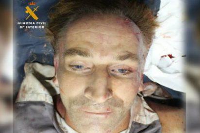 La foto del muerto publicada por la Guardia Civil en Twitter... con razón