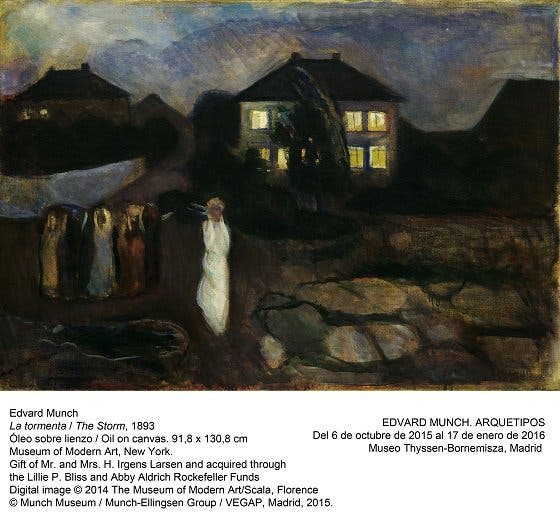 Edvard Munch, más allá de su grito