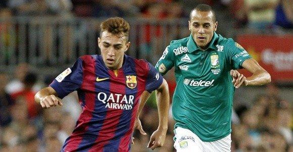 La Real Sociedad busca en el Barcelona un recambio para Carlos Vela