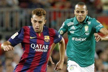 El Barcelona podría dejarle salir rumbo al Celta o a la Real Sociedad