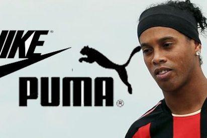 Asi quedó el coche de Ronaldinho tras el accidente que sufrió