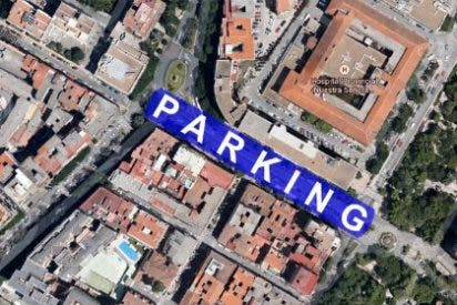 Preocupación por las grietas aparecidas en el entorno del parking de Primo de Rivera