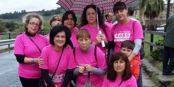 Marchagaz: más participantes que vecinos en una marcha de apoyo a la lucha contra el cáncer