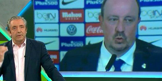 """Pedrerol: """"Que Rafa Benítez vea 'Al rojo vivo' o 'Más vale tarde' y así se entera que Carmena es la alcaldesa de Madrid"""""""