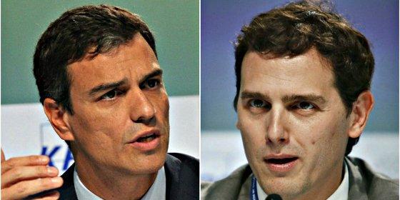 El plan 'secreto' de Pedro Sánchez: Camelar a Albert Rivera y tejer un pacto PSOE-Ciudadanos