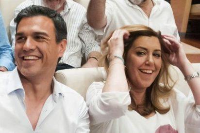 Susana Díaz 'sentencia a muerte' a Pedro Sánchez: con menos de 100 escaños no quedará nada del actual secretario