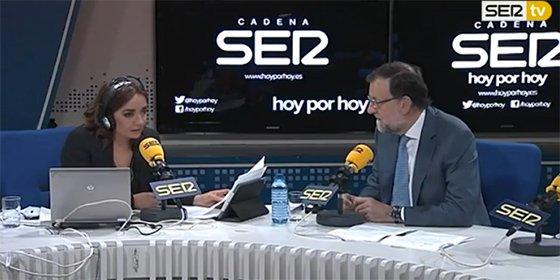"""Rajoy le da con toda la mano abierta a la apocalíptica Pepa Bueno: """"Los ingresos de publicidad de la SER subieron un 10%"""""""