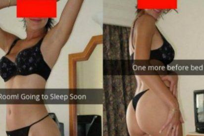 Manda estas fotos 'hot' al marido y un detalle delata que le pone los cuernos