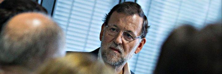 """Mariano Rajoy se harta de los enredos de Aznar: """"El PP es el gran partido de las clases medias"""""""