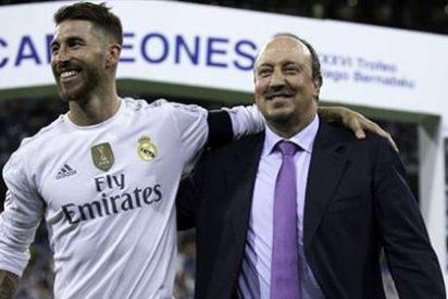 """Sergio Ramos: """"Siempre hablo con Rafa Benítez, todo está tranquilo en el Real Madrid"""""""