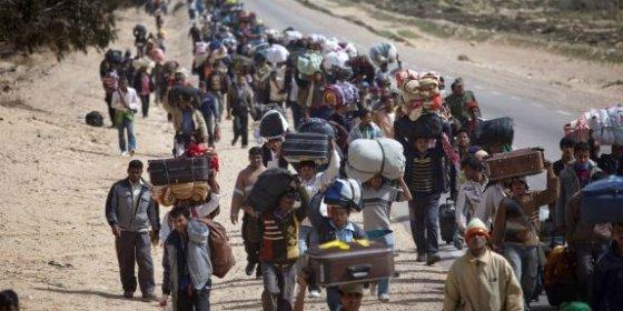 Concentraciones de la Plataforma de Refugiados de Extremadura