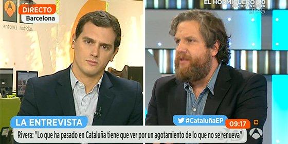 David Gistau demanda a Albert Rivera que dé una respuesta concreta sobre Cataluña