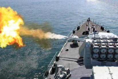 Así lanza sus misiles la flota rusa desde el mar Caspio para ahogar al Daesh