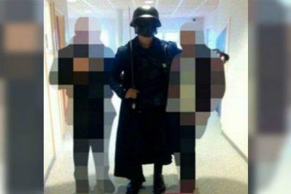 Matanza en la escuela: el enmascarado con espada no celebraba Halloween