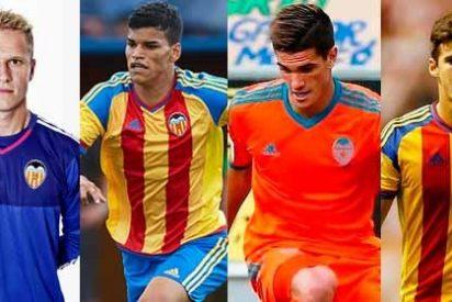El Valencia busca salida a De Paul, Yoel, Mina y Danilo Barbosa