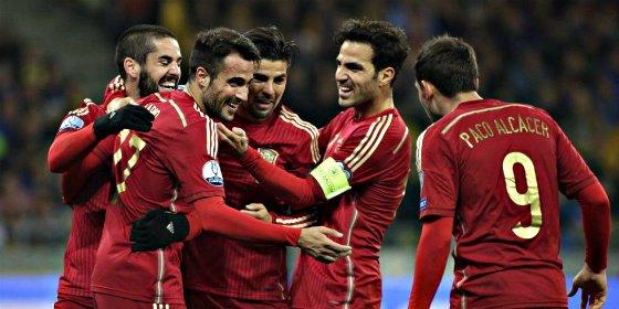 Ucrania 0- España 1: Mucho arte y mucho De Gea