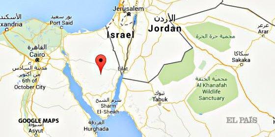 Un avión ruso con 224 personas a bordo se estrella en el desierto del Sinaí
