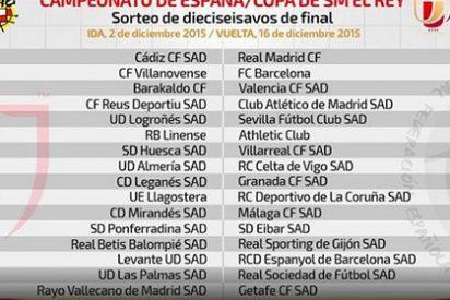 El 'gordo' cae al Cádiz, Villanovense y Reus, que tendrán al Madrid, Barça y Atlético
