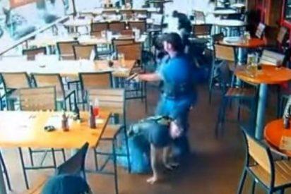 El vídeo de la matanza entre bandas motoristas en un restaurante