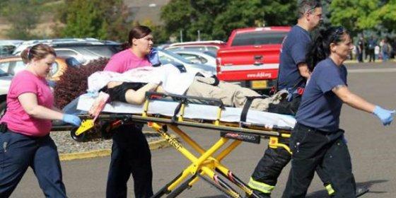El feroz tiroteo en una universidad de Oregón: 10 muertos a manos de un chalado con chaleco antibalas