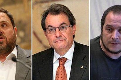 """Carlos Herrera se mofa de la idea de una legislatura catalana con cuatro presidentes: """"Han perdido la cabeza y hasta la sandalia"""""""