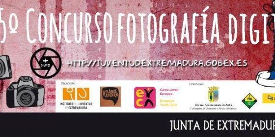 El V Concurso de Fotografía Digital Carné Joven Europeo Extremadura recibe 609 trabajos