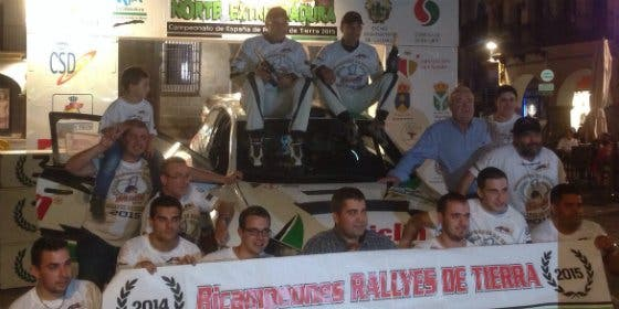 Amador Vidal y Francisco Lema se imponen en el VI Rallye de Tierra Norte de Extremadura