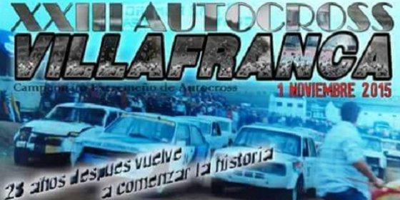 El regional se decide en el XXIII Autocross Villafranca